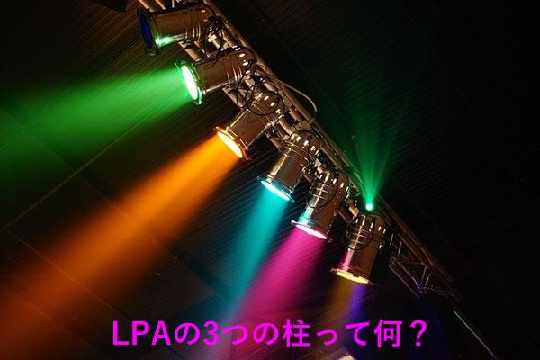 LPAの3つの柱って何?